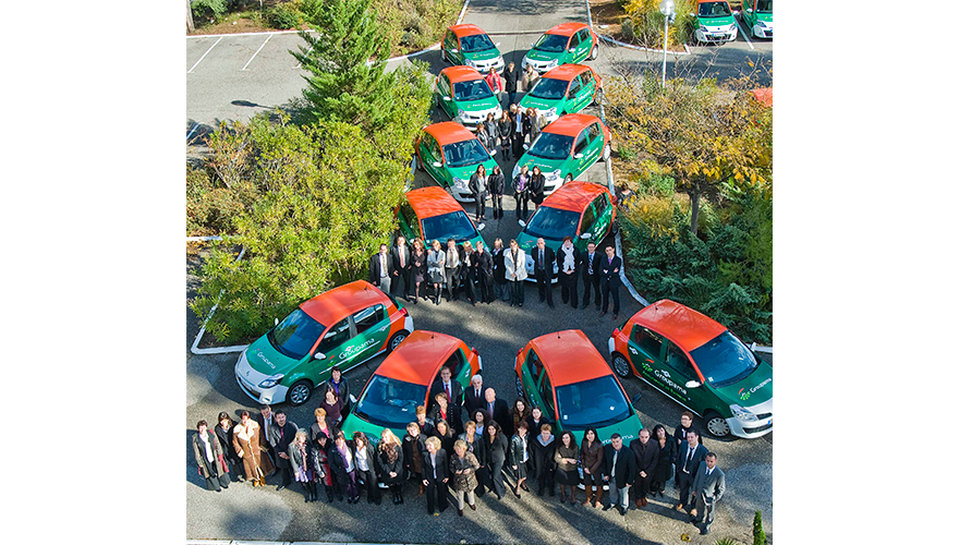 Flotte véhicules en décoration total covering